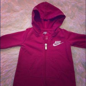 Nike baby girl coveralls